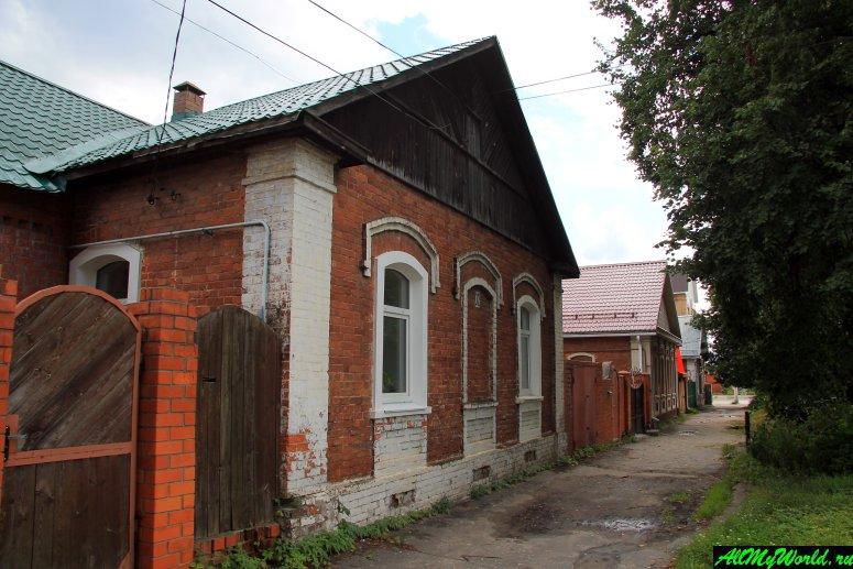 Гусь Хрустальный достопримечательности: Мальцовские дома