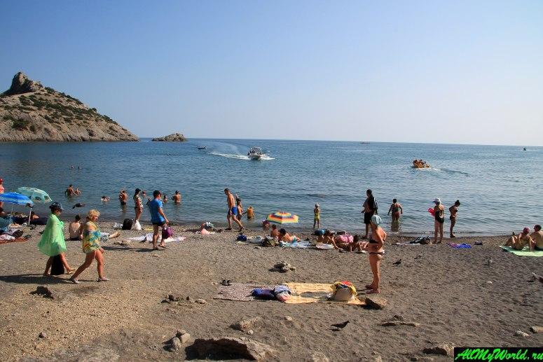 Крым, Царский пляж