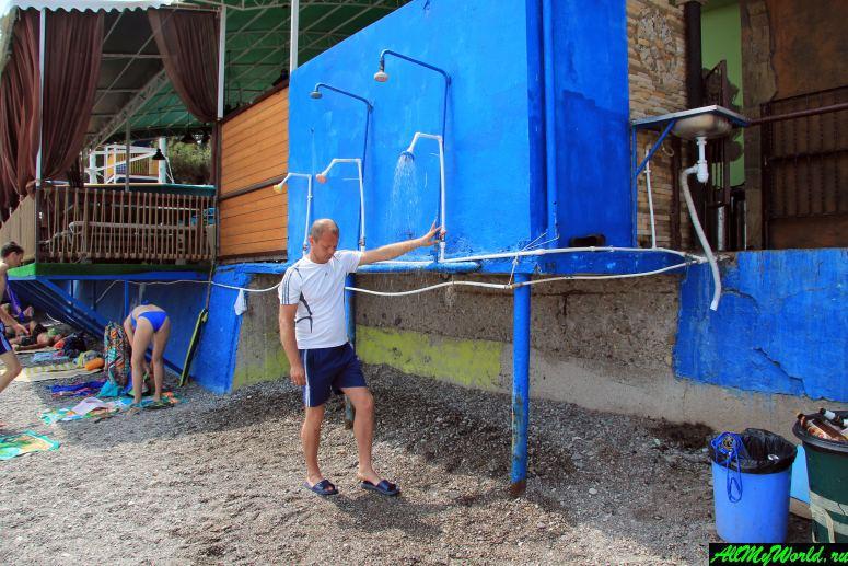 Крым, Центральный (Городской) пляж Алушты