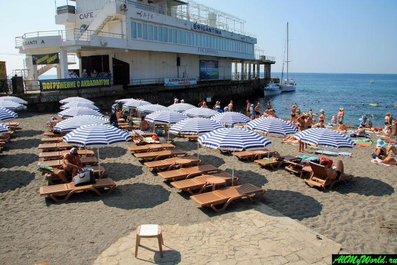 Крым, пляжи Судака