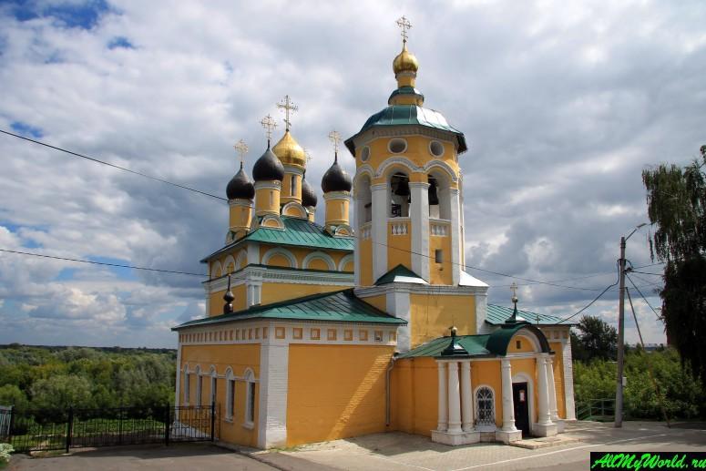 Достопримечательности Мурома: Николо-Набережная церковь