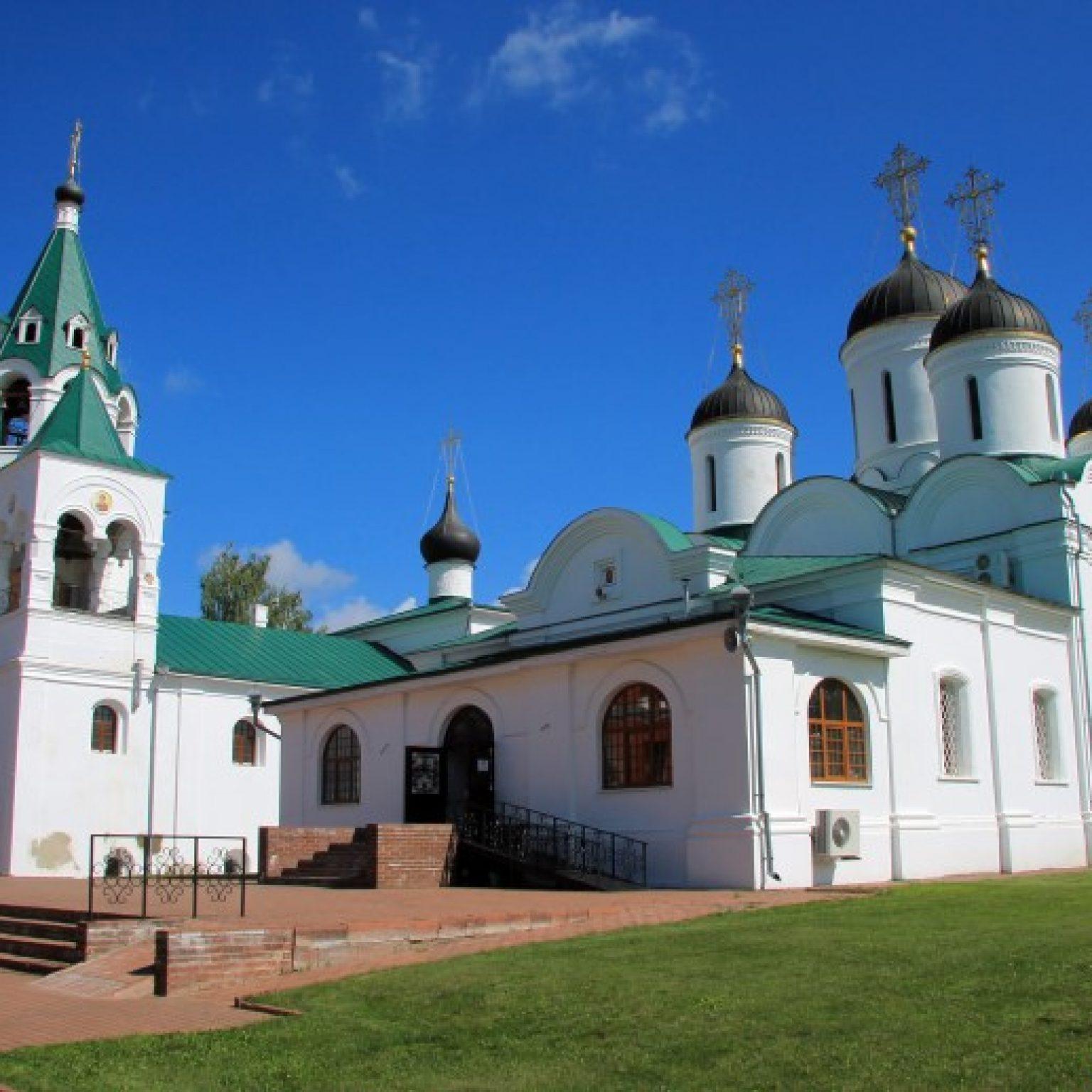 Достопримечательности Мурома: Спасо-Преображенский монастырь