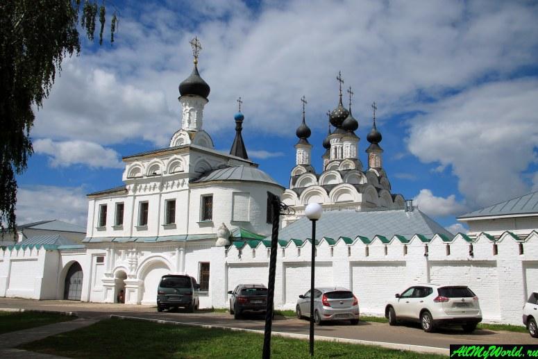 Достопримечательности Мурома: Свято-Благовещенский монастырь