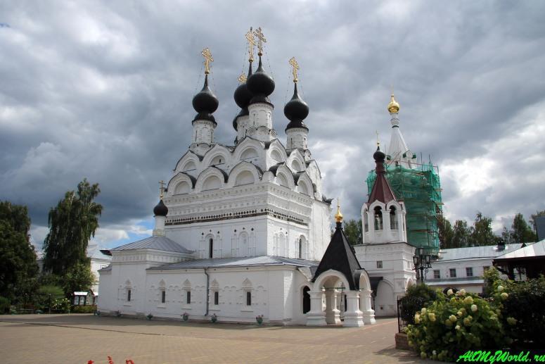 Достопримечательности Мурома: Свято-Троицкий монастырь