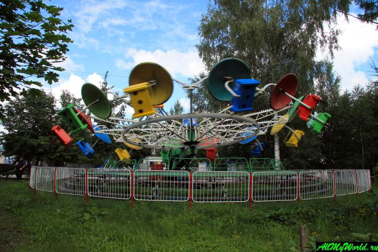 Достопримечательности Мурома: Окский парк