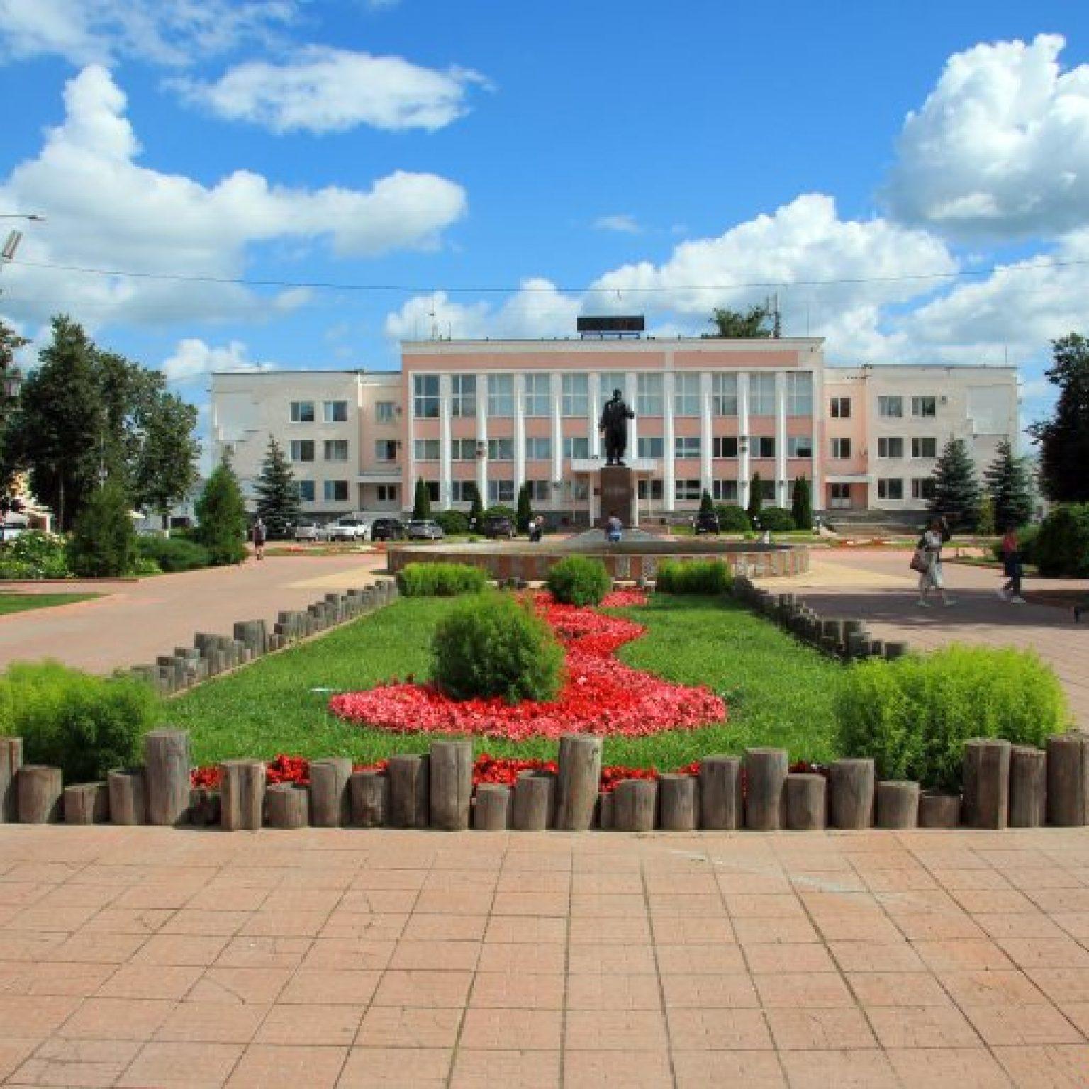 Достопримечательности Мурома: Площадь 1100-летия Мурома