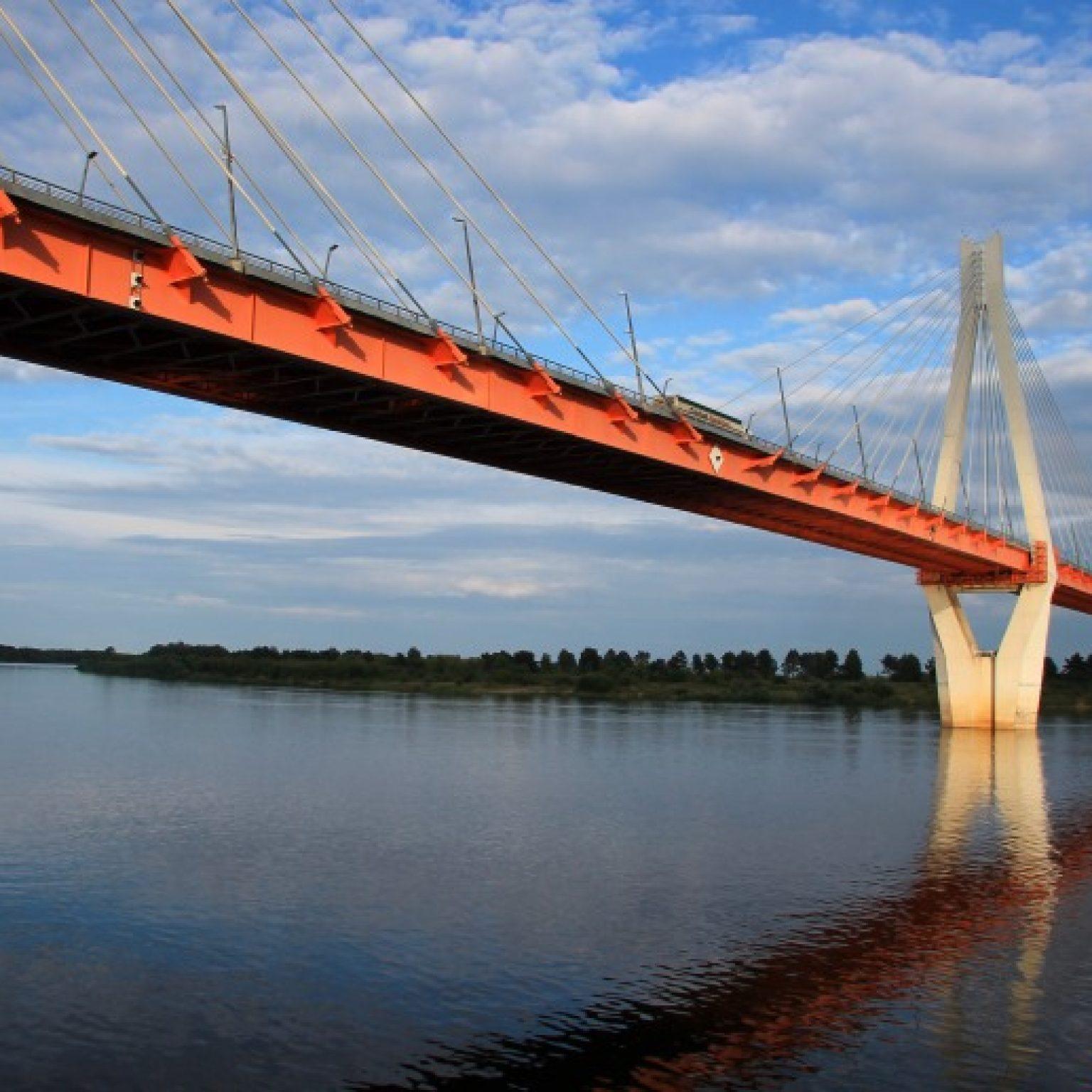 Достопримечательности Мурома: Муромский вантовый мост