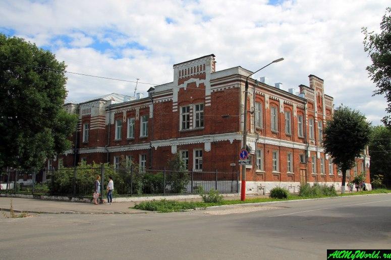 Достопримечательности Мурома: Здание реального училища