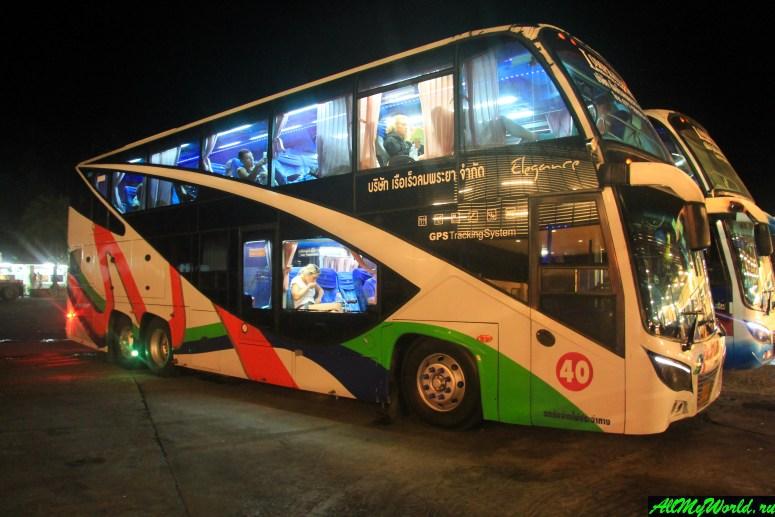 Рейсовый автобус Бангкок-Самуи