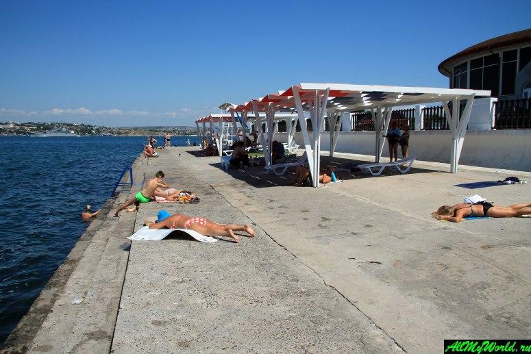 Хрустальный пляж Севастополя