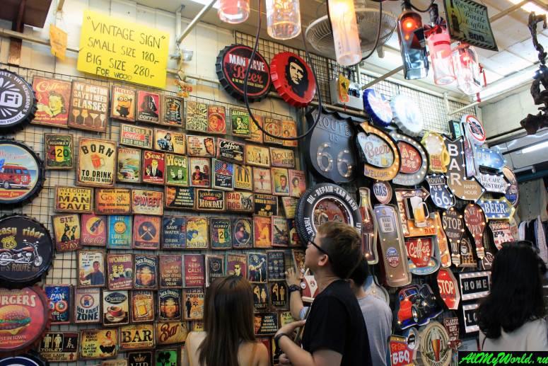 Attractions in Bangkok: Chatuchak Weekend Market