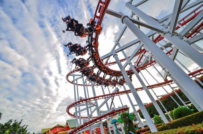 Attractions in Bangkok: Dream World Amusement Park