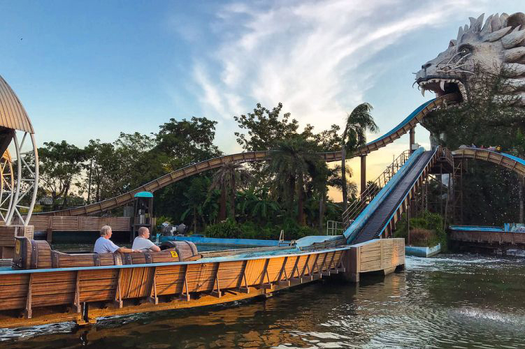 Attractions in Bangkok: Siam Water Park (Siam Park City)