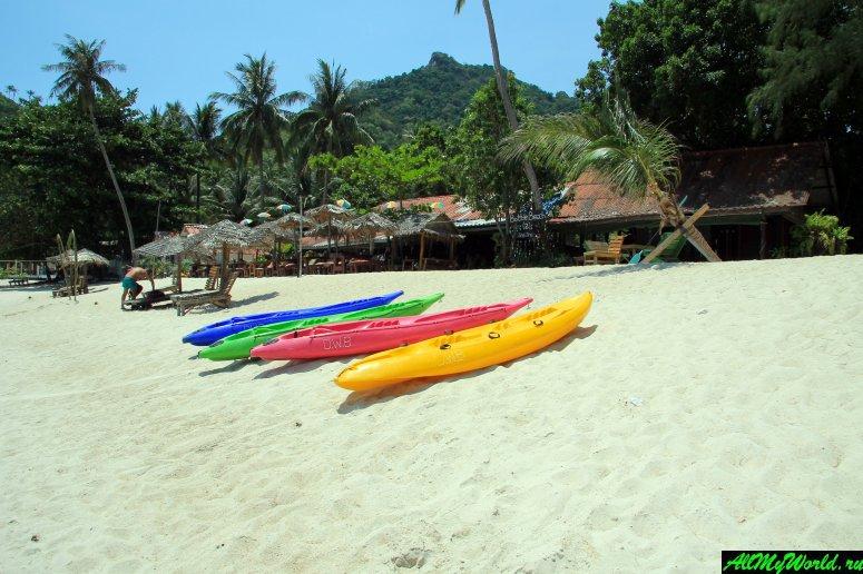Бутылочный пляж (Ботл-бич) - один из красивейших пляжей Пангана