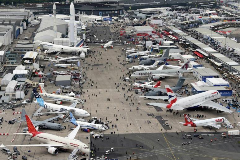 Что посмотреть в окрестностях Парижа: Авиасалон в Ле-Бурже