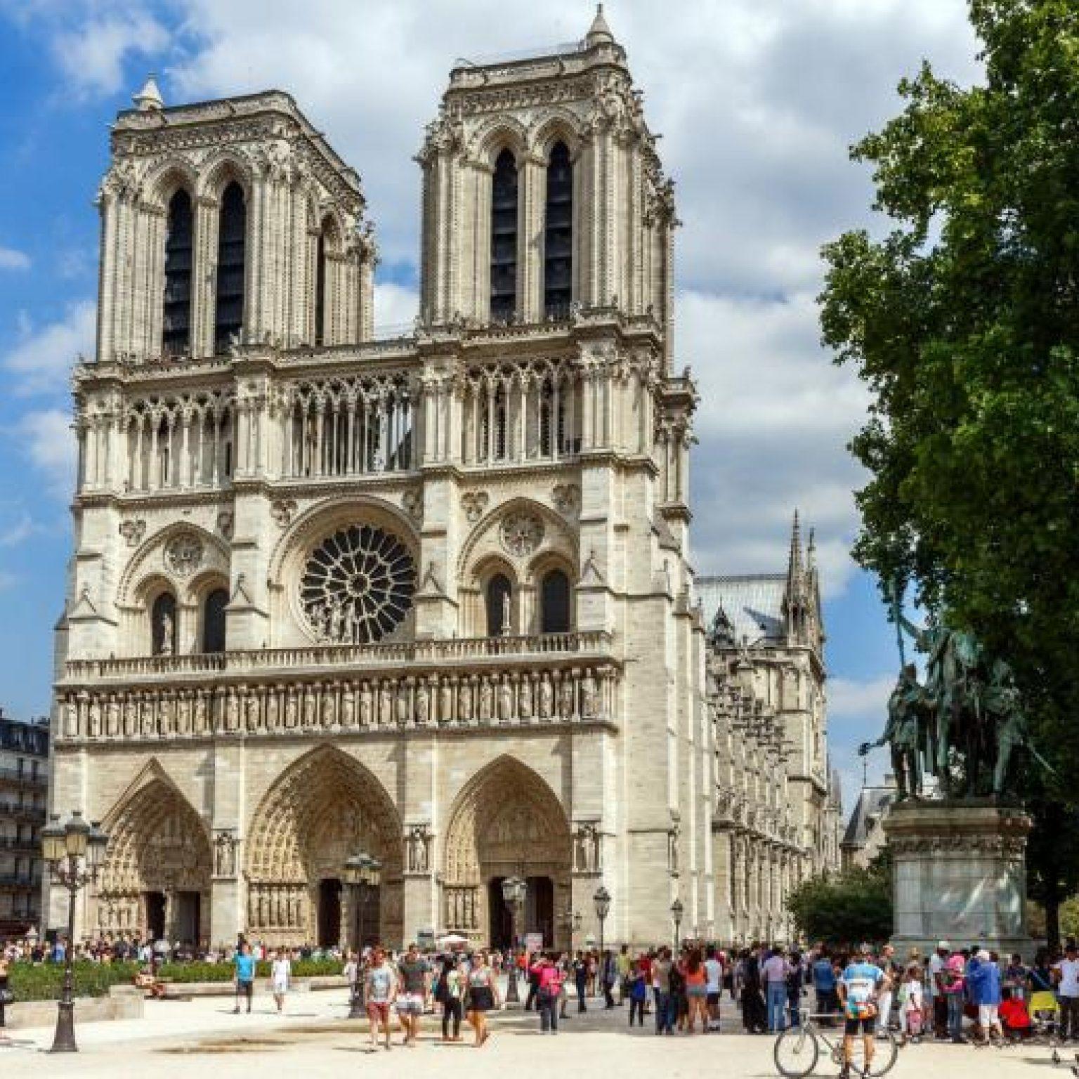 Достопримечательности Парижа: Нотр-Дам-де-Пари – собор Парижской Богоматери