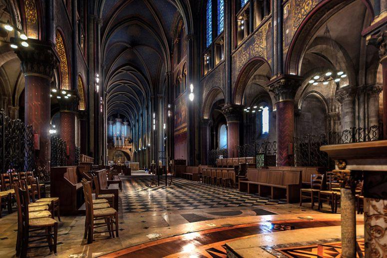 Достопримечательности Парижа: Церковь Сен-Жермен-де-Пре