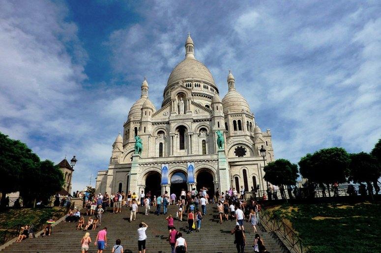 Достопримечательности Парижа: Базилика Сакре-Кёр
