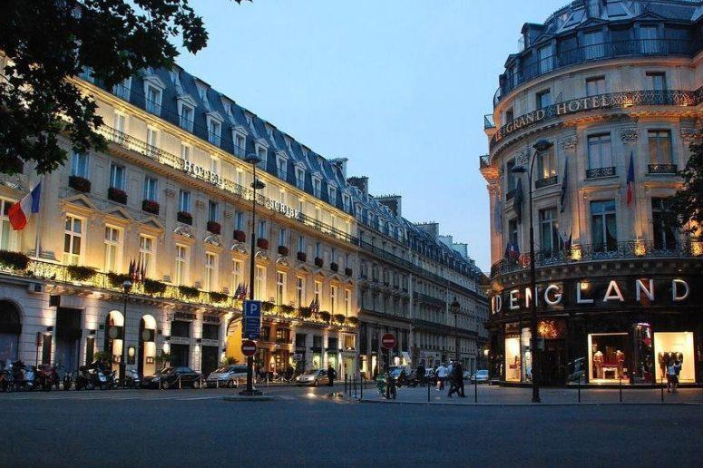 Достопримечательности Парижа: Бульвар Капуцинок