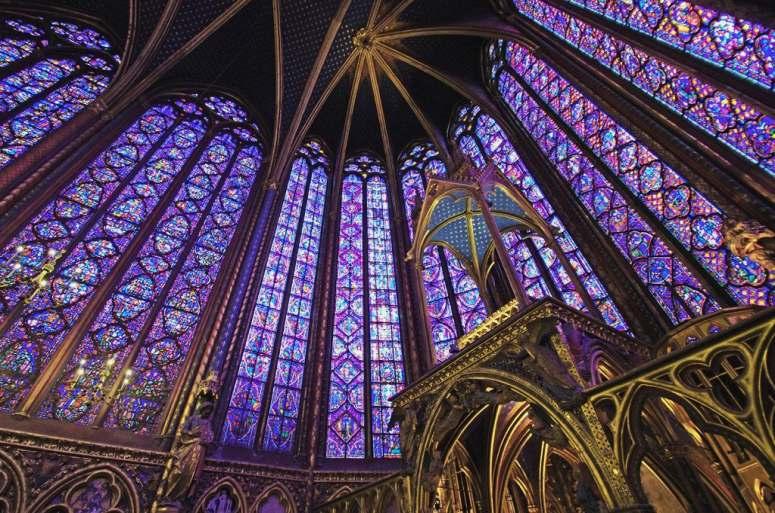 Достопримечательности Парижа: Часовня Сен-Шапель