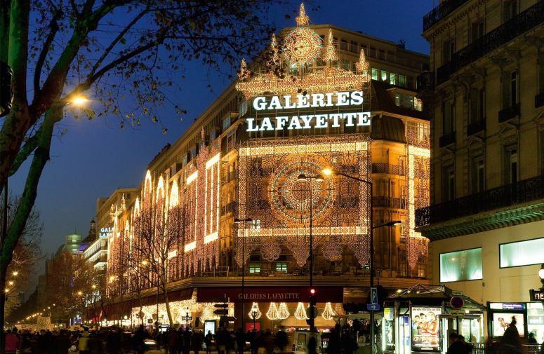 Достопримечательности Парижа: Галереи Лафайет