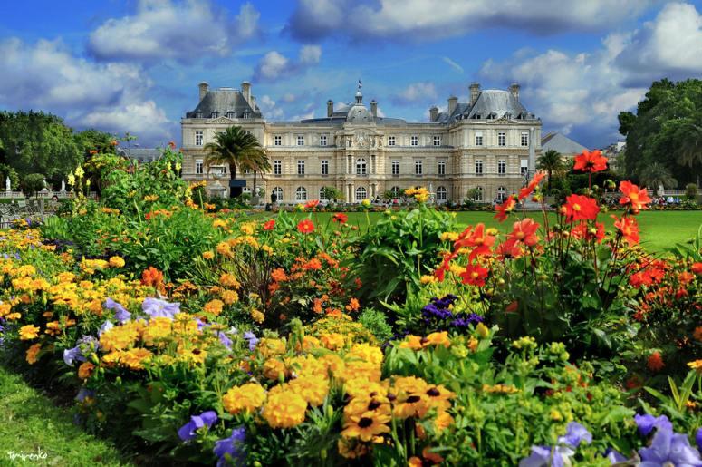 Достопримечательности Парижа: Люксембургский сад и дворец