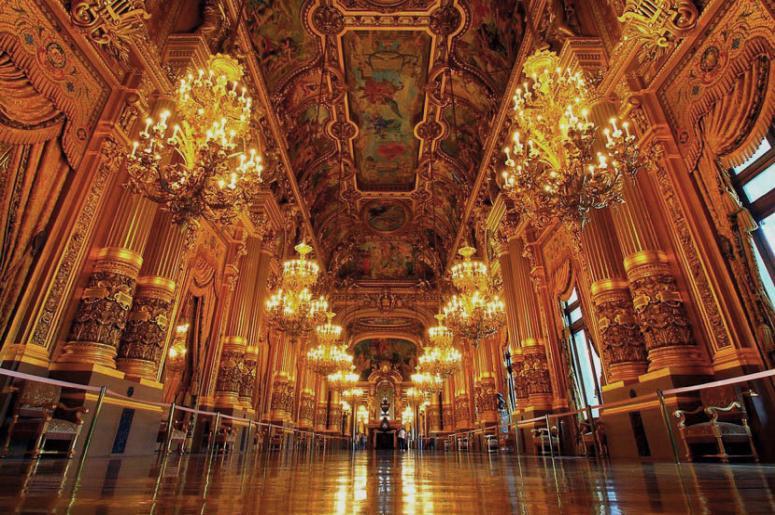 Достопримечательности Парижа: Опера Гарнье