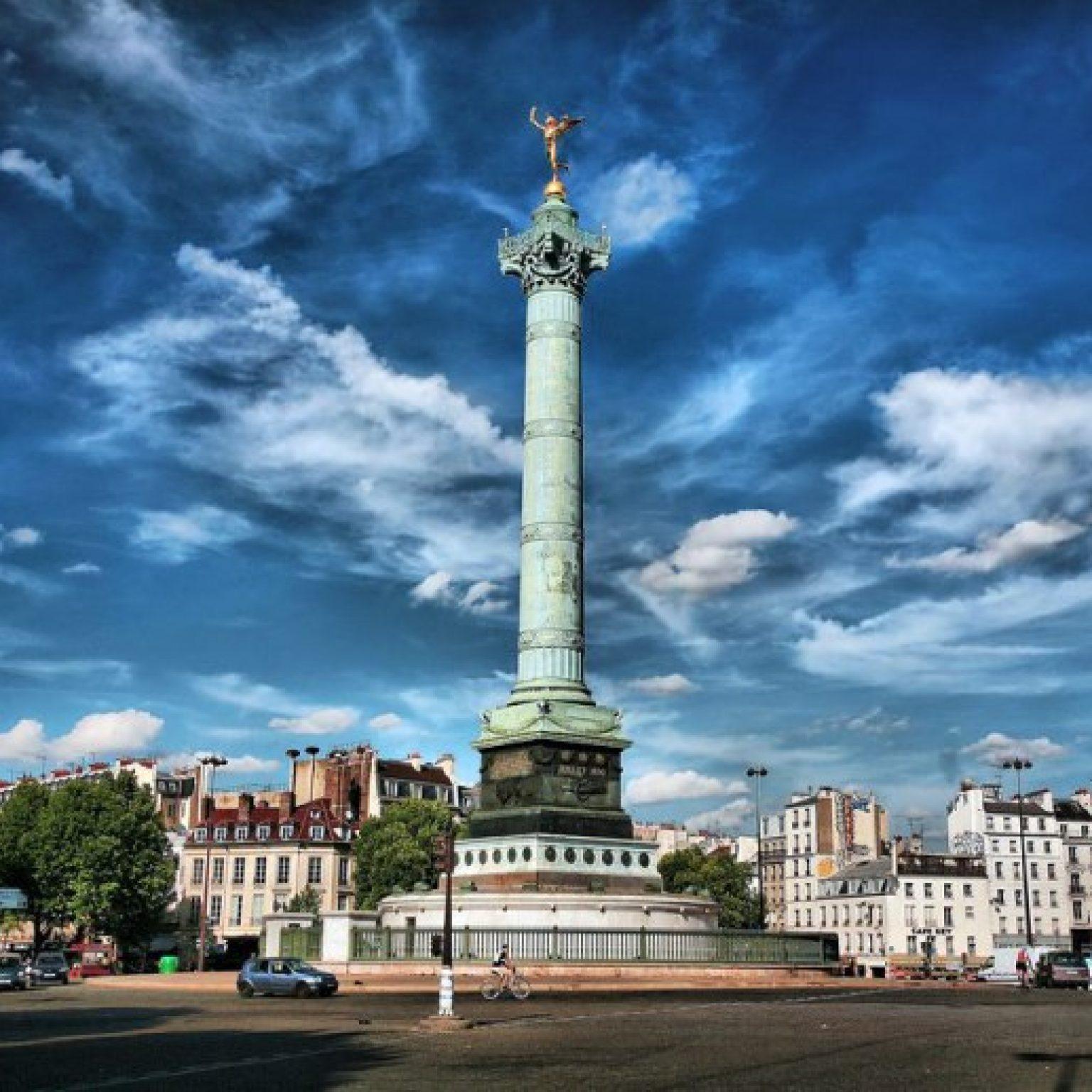 Достопримечательности Парижа: Площадь Бастилии
