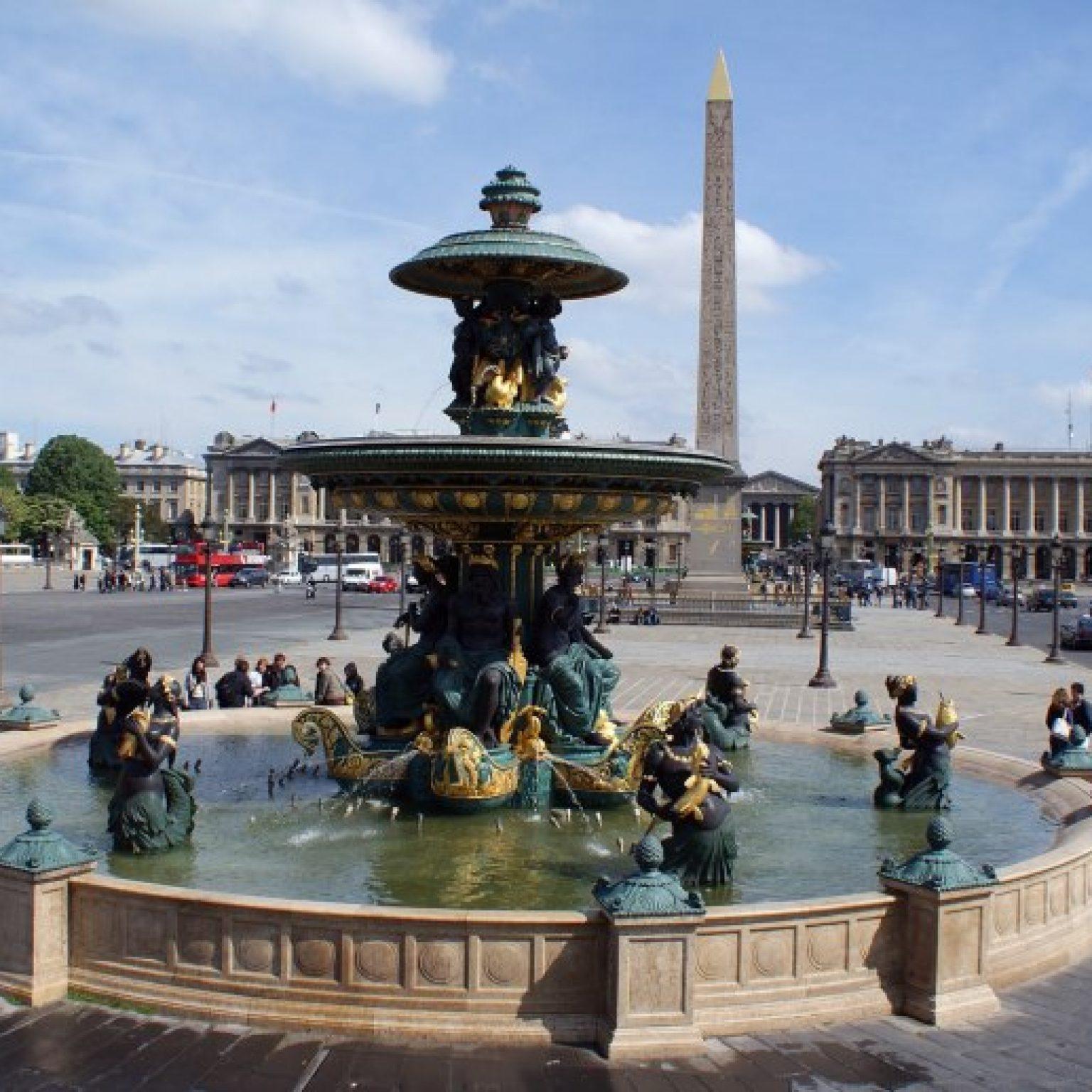 Достопримечательности Парижа: Площадь Согласия