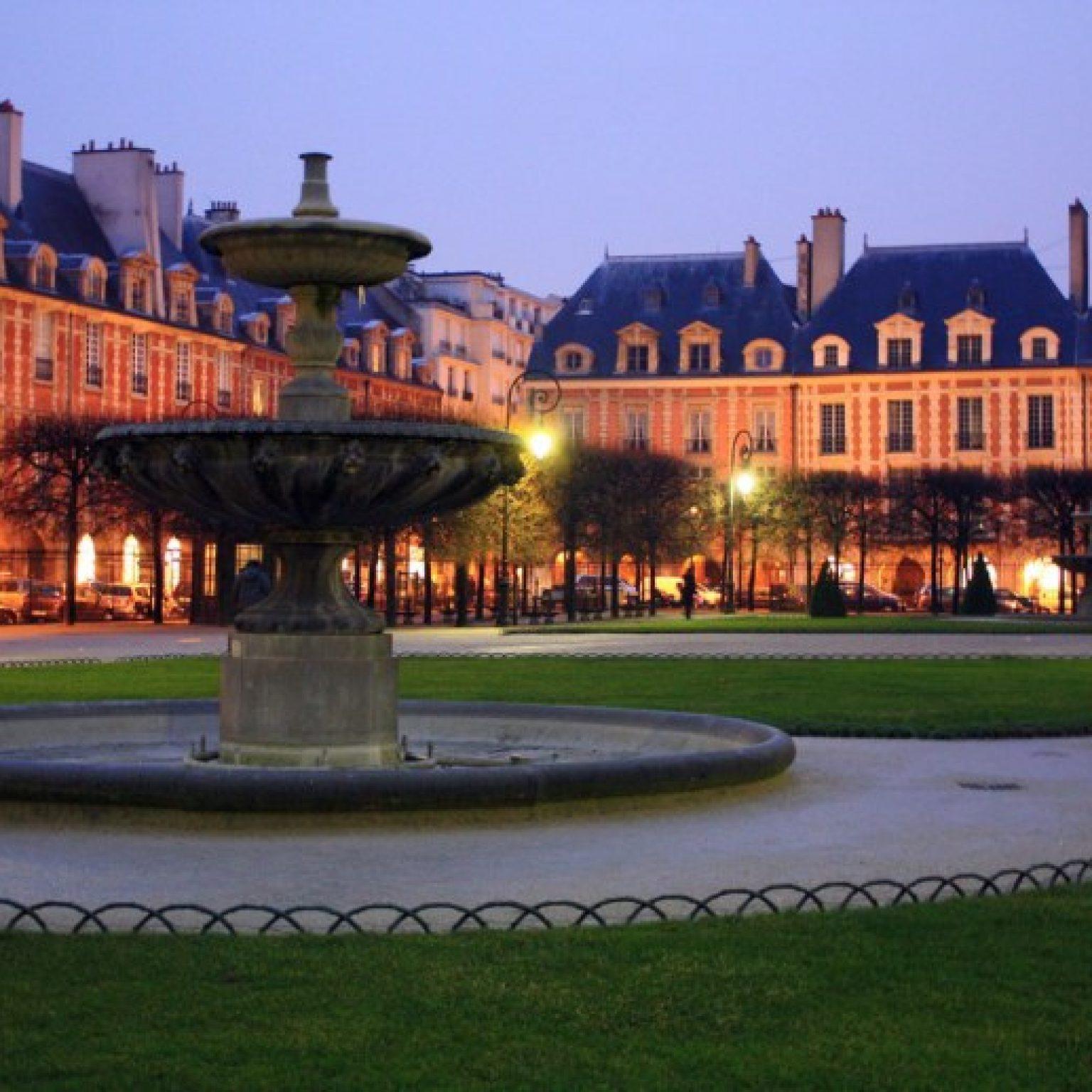 Достопримечательности Парижа: Площадь Вогезов