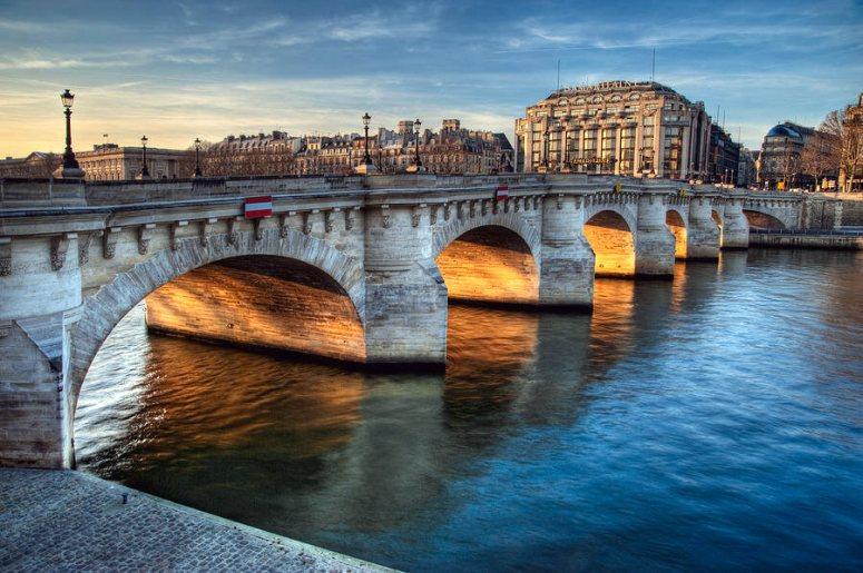 Достопримечательности Парижа: Понт-Нёф – Новый мост