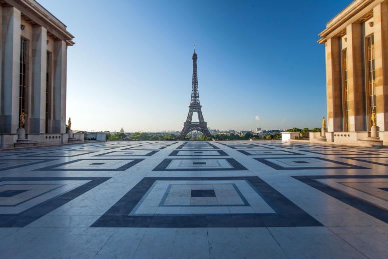 Достопримечательности Парижа: Трокадеро