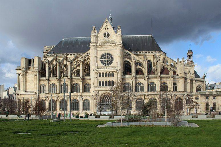 Достопримечательности Парижа: Церковь Сент-Эсташ