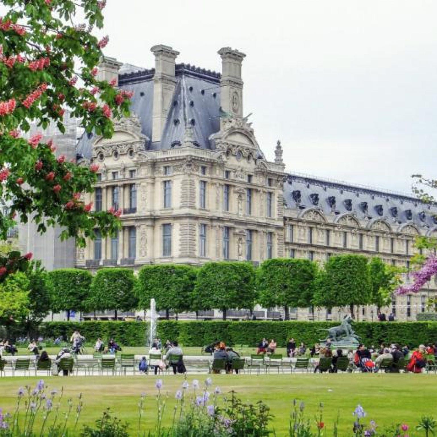 Достопримечательности Парижа: Сад Тюильри