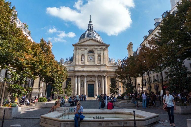 Достопримечательности Парижа: Сорбонна