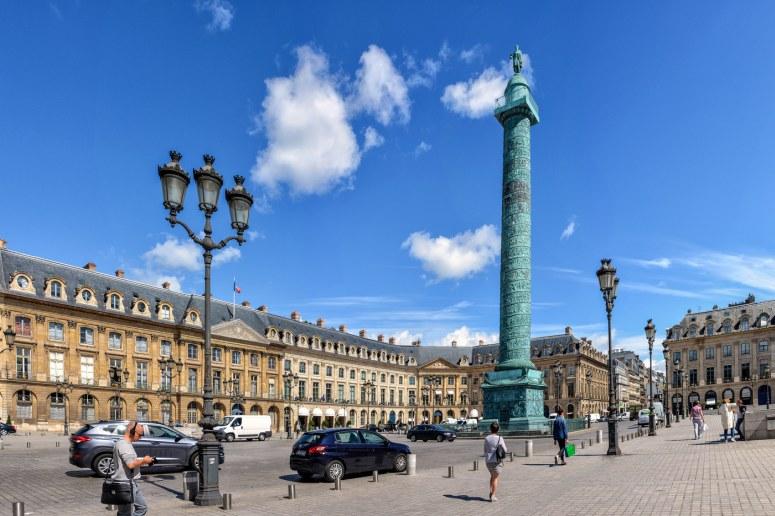 Достопримечательности Парижа: Вандомская площадь