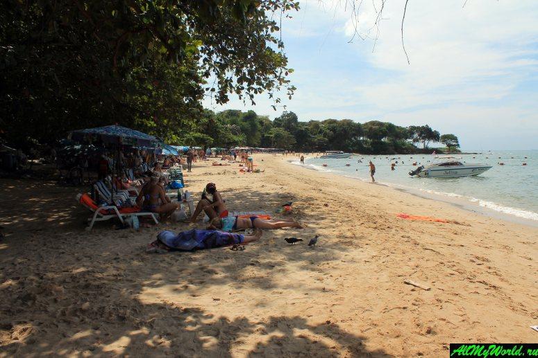 Кози Бич - уютный пляж рядом с центром Паттайи