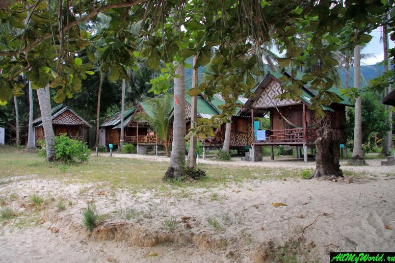 Таиланд, Панган, бухта Чалоклам, резорт Fanta Sea