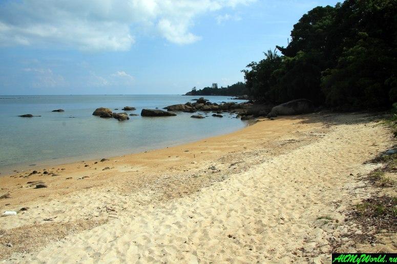 Панган, бухта Чалоклам: пляж отеля Buritara