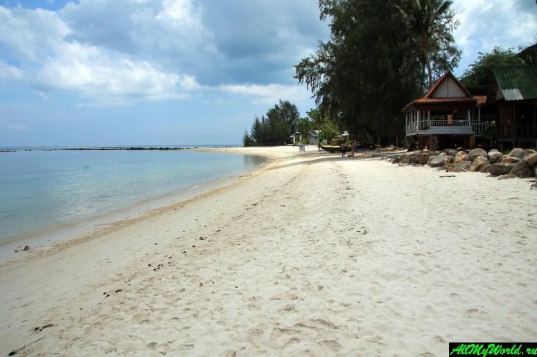 Панган, бухта Чалоклам: пляж Фанта