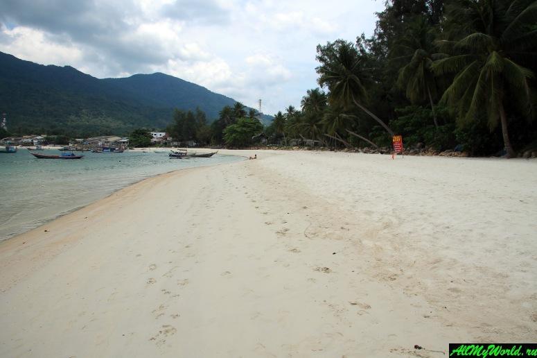 Панган, бухта Чалоклам: пляж Малибу