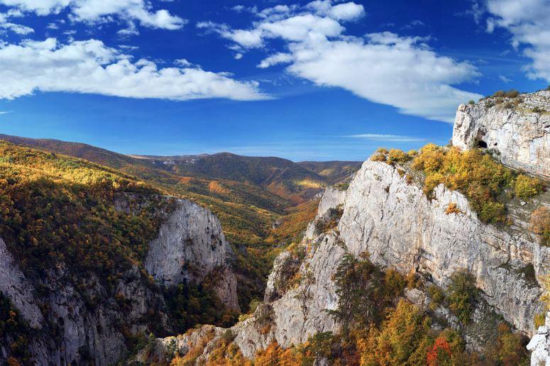 Достопримечательности Крыма - Большой каньон Крыма