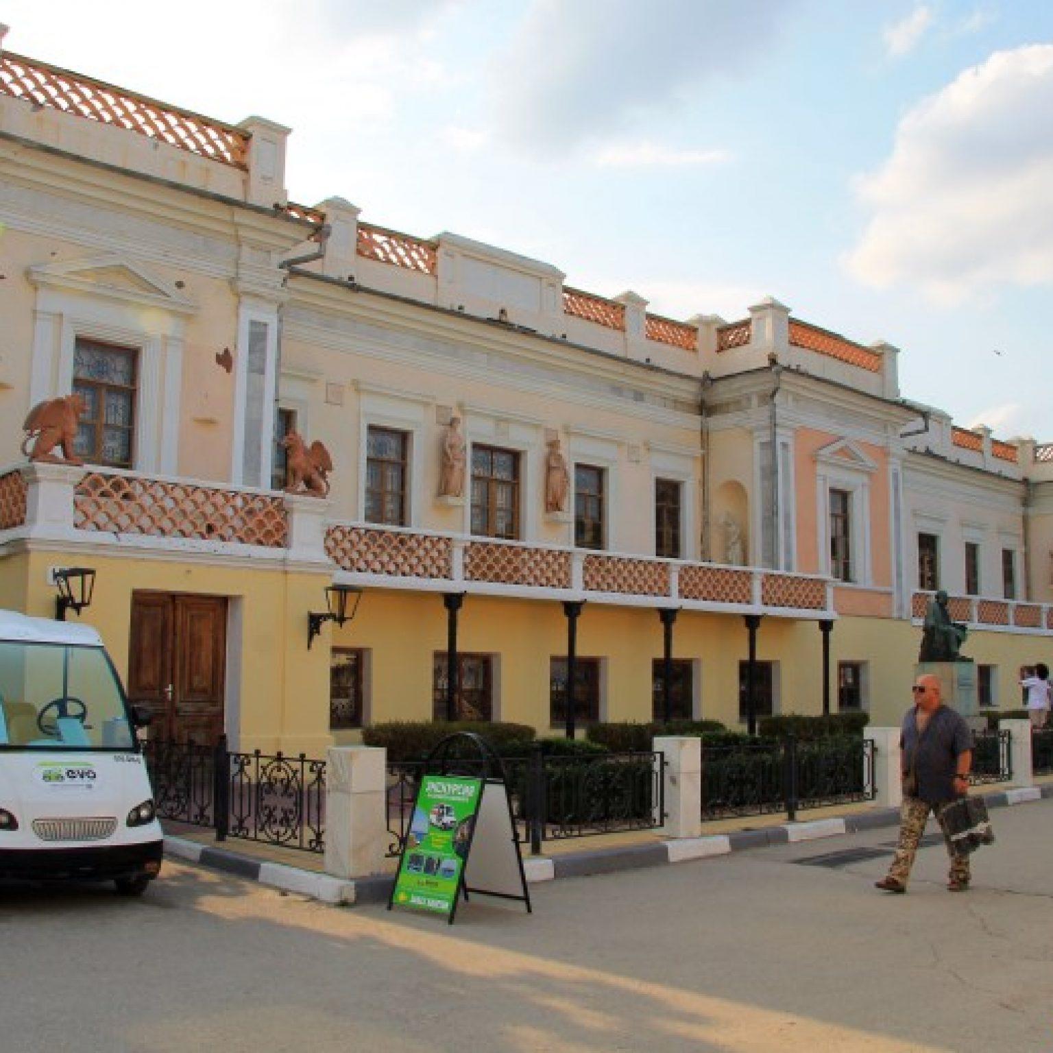Достопримечательности Крыма - Картинная галерея Айвазовского в Феодосии