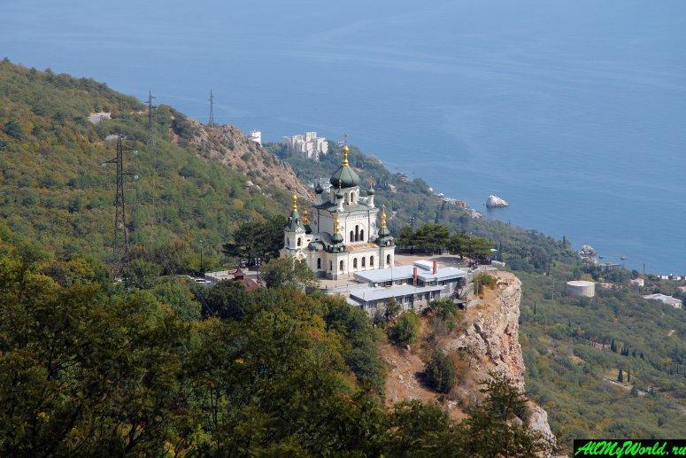 Достопримечательности Крыма - Храм Вознесения Христова в Форосе