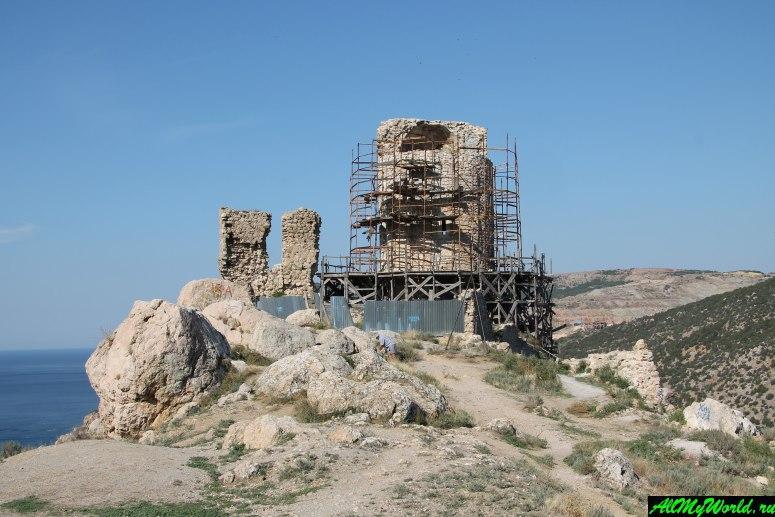 Достопримечательности Крыма - Генуэзская крепость Чембало