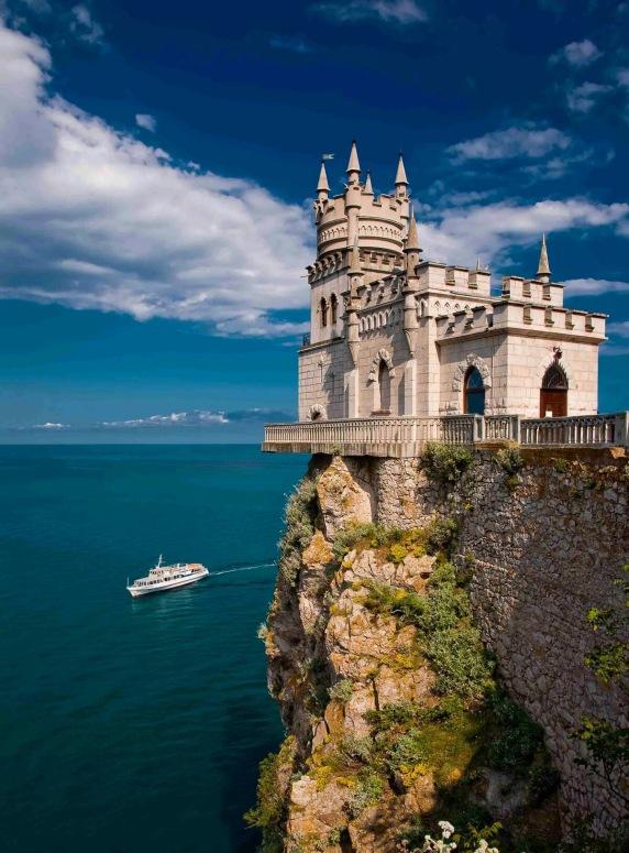 Достопримечательности Крыма - Ласточкино гнездо