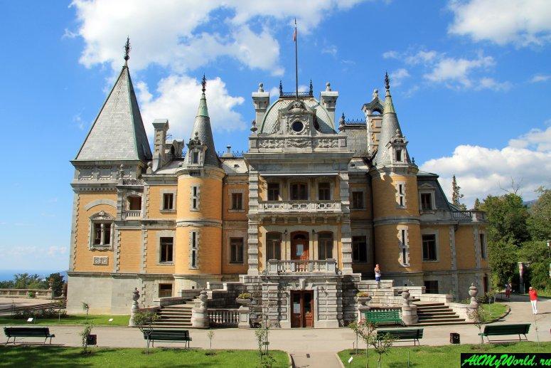 Достопримечательности Крыма - Массандровский дворец