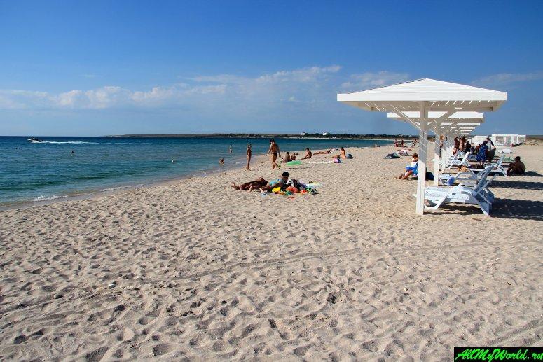 Достопримечательности Крыма - Мыс Тарханкут и песчаные пляжи Оленевки