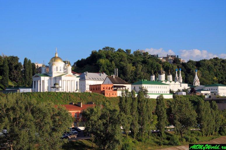 Достопримечательности Нижнего Новгорода: Благовещенский монастырь