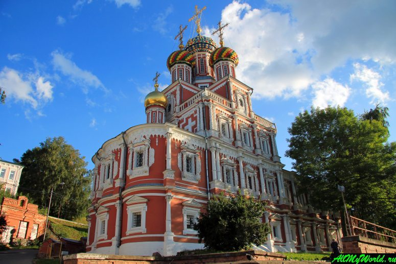 Достопримечательности Нижнего Новгорода: Строгановская (Рождественская) церковь